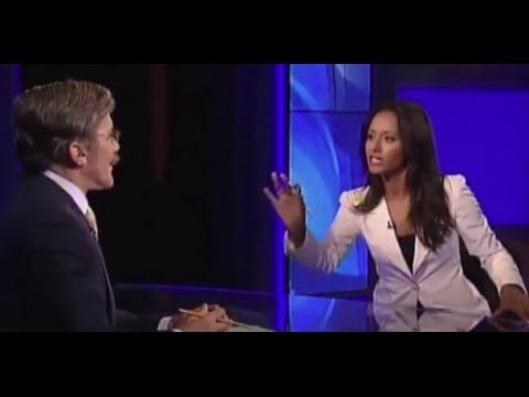 Fox News' Geraldo Rivera Stunned After Rula Jebreal Points Out: No Arabs...
