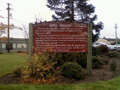 Battle Ground Washington Information- our history!!