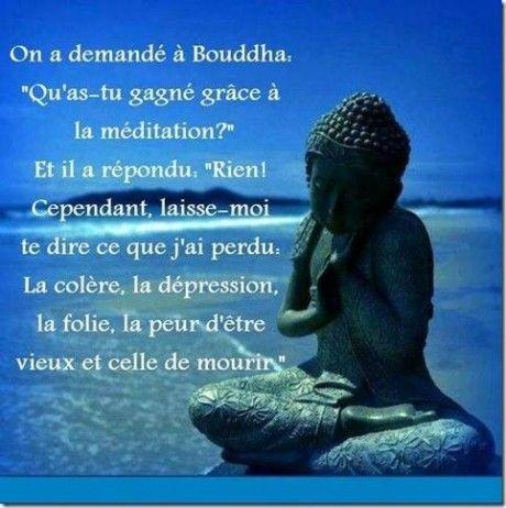 A propos de la méditation