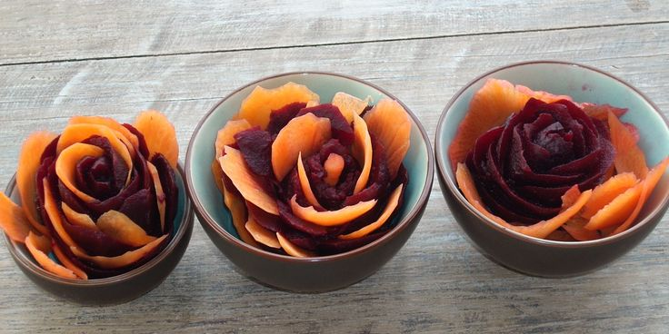 Salad of beetroot and carrots