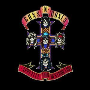 Guns N' Roses Sweet Child of Mine.       Appetite for Destruction