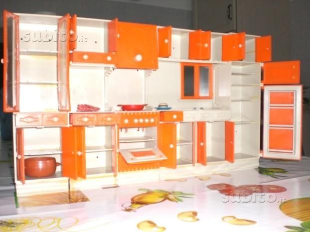 cucina per bambole galletti galba - anni-70