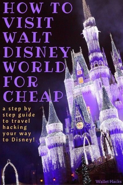 A vacation at Walt Disney World can be extremely expensive... unless you know some tips and tricks to getting there cheap. We share the best travel hacking secrets that will save you nearly $4,000 -- and have you staying in the best hotels (think the Swan and Dolphin resorts), hopping around the park, and planning on having a memorable time on a reasonable budget.