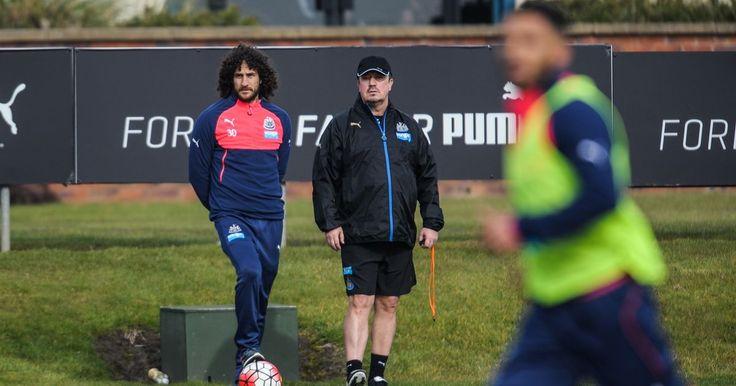 Newcastle United skipper Fabricio Coloccini misses out on...: Newcastle United… #NewcastlevLiverpool #LiverpoolvsNewcastle #NewcastleUnited