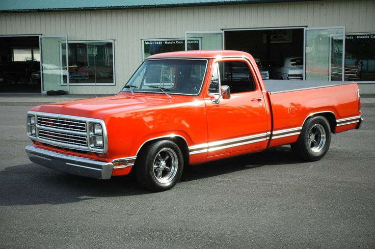 1979 Dodge D100 Pick-Up Truck.