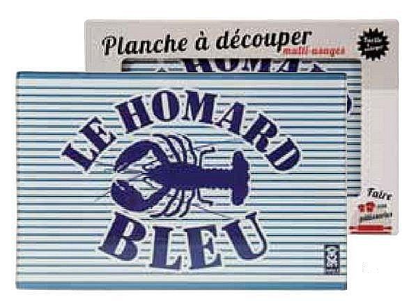 Planche à Découper Multi-Usages - MARINIERES, Homard Bleu