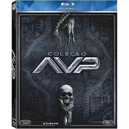 Blu-ray Alien Vs Predador 1 E 2 (2 Discos)- Lacrado-original - R$ 99,90