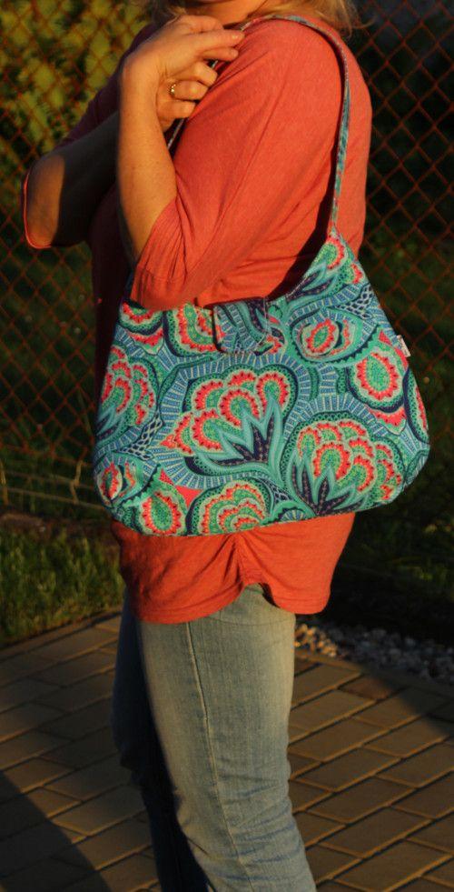 Nebojácně modrá 1 - letní kabelka