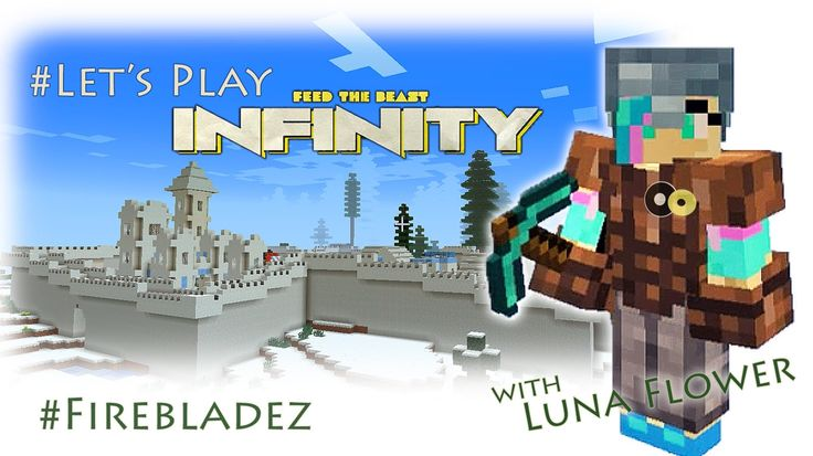 Let's Play Minecraft! FTB Infinity Evolved Pt.51: My New House in the Sn...