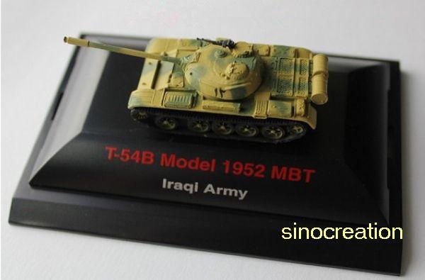1/144 Иракская Армия Т-54Б Модель 1952 Основной Боевой Танк, Мини Военный Танк Игрушки Для Ребенка, большой Ребенок Подарок, бесплатная Доставка