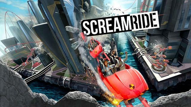 #Screamride game. Release date: Spring 2015
