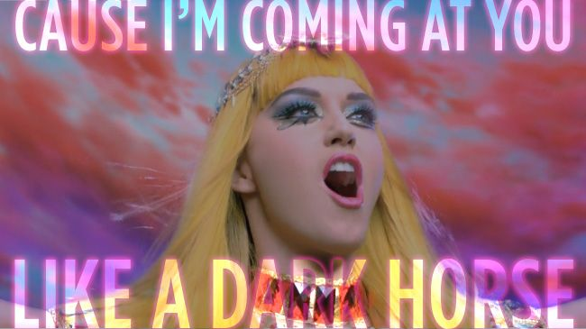Katy Perry | Dark Horse lyrics