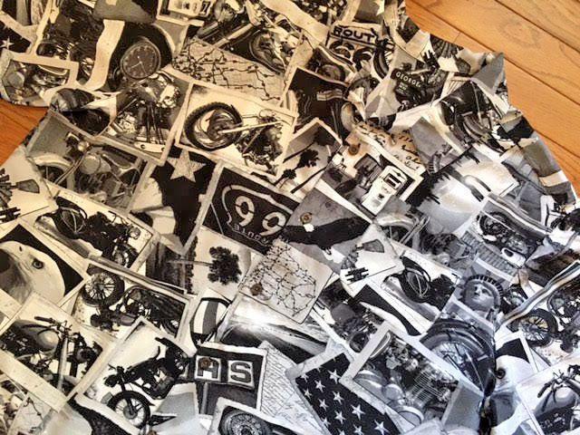 BIG MENS 2X XXL 50-52 GEORGE s/s HAWAIIAN-style SHIRT ROUTE 66 americana-theme #George #Hawaiian