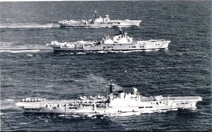 HMS Victorious, HMS Ark Royal and HMS Hermes in the Mediterranean Sea,1960. DA 1 posted. - David Arkwright 1 - Google+