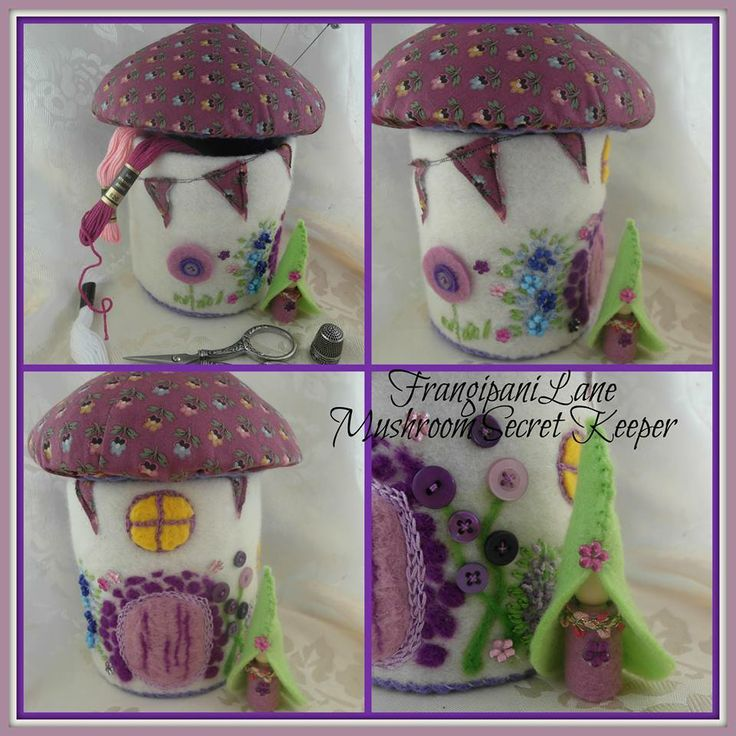 Felt Fairy House.  Enchanted Forest Market Night opens at 9pm, on Tuesday 6th May, 2014