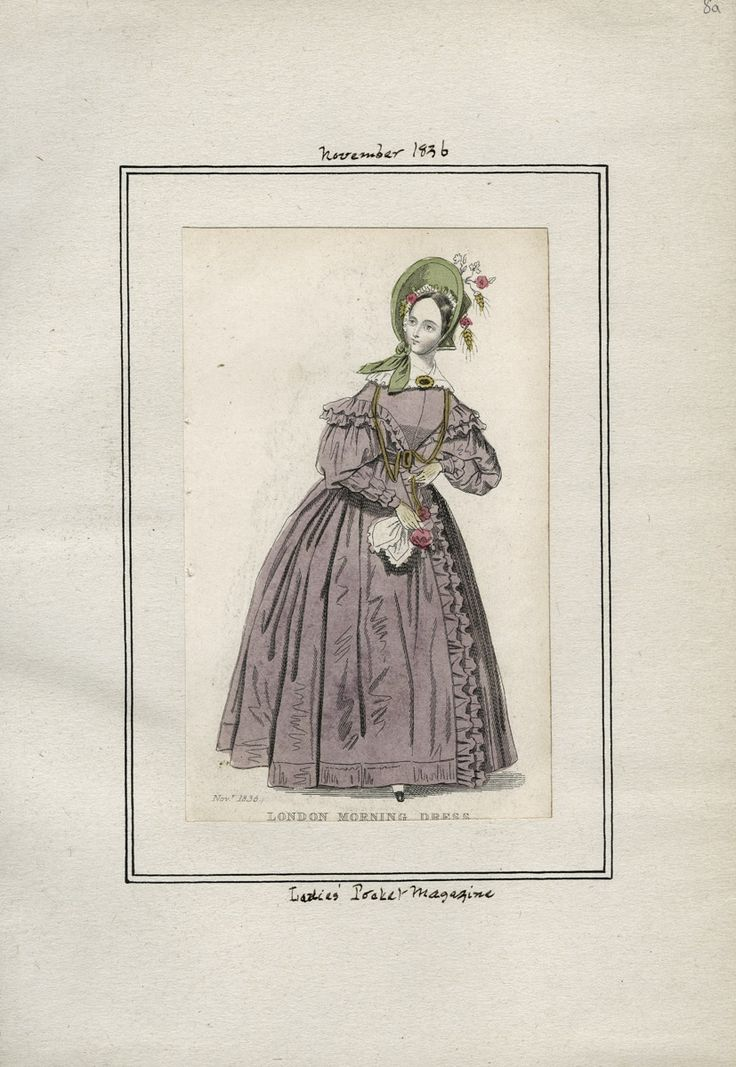 Ladies' Pocket Magazine November 1836 LAPL