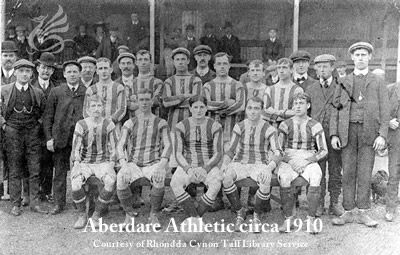 aberdare athletic 1910 team