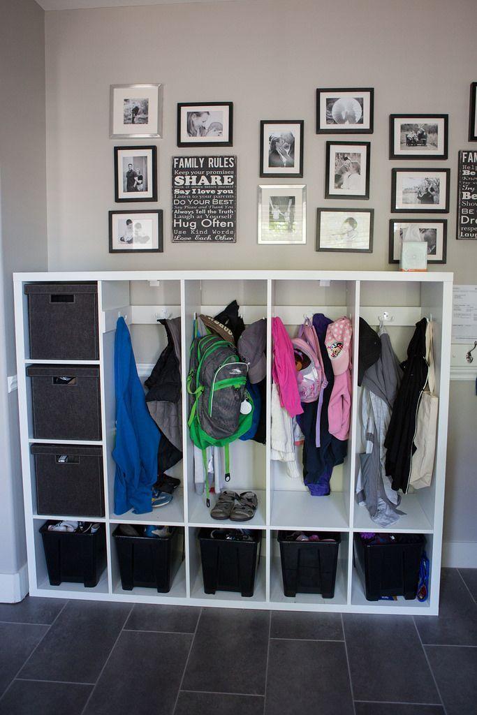 Diese DIY-Schließfächer für Kinder helfen Ihnen beim Zugang zu Ihrem Eingang