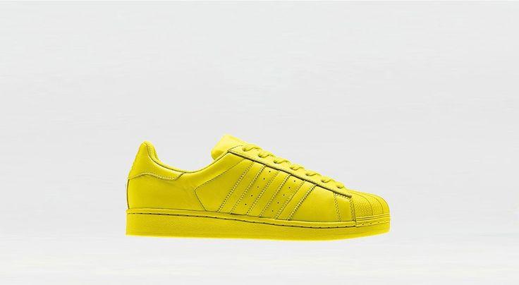 "Adidas x Pharrell Superstar Supercolor ""Bright Yellow"" bei Afew"