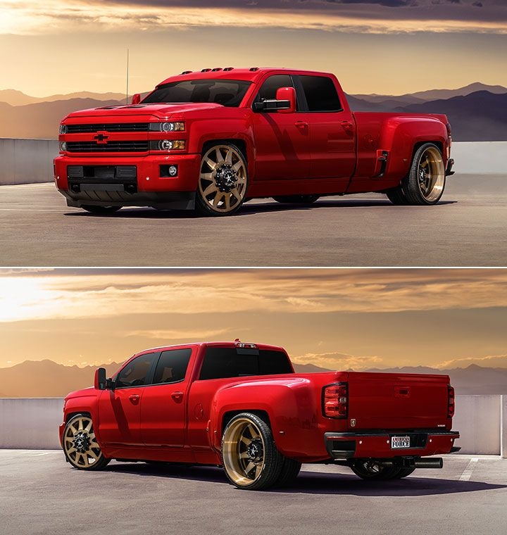 #CHEVROLET #SILVERADO 3500 HD #DUALLY #LOWERED ...