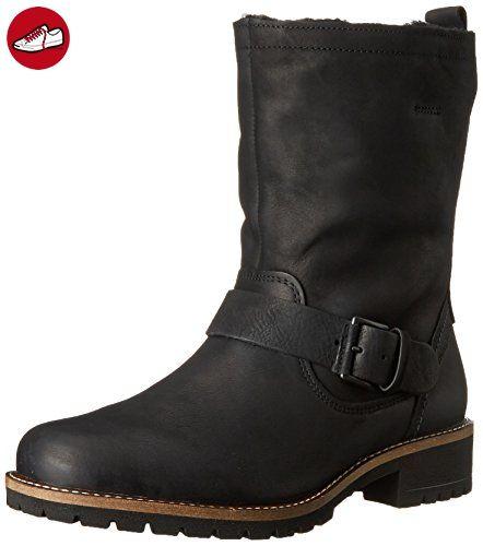 Ecco ECCO ELAINE, Damen Biker Boots, Schwarz (Black), 39 EU (6 Damen UK) - Ecco schuhe (*Partner-Link)