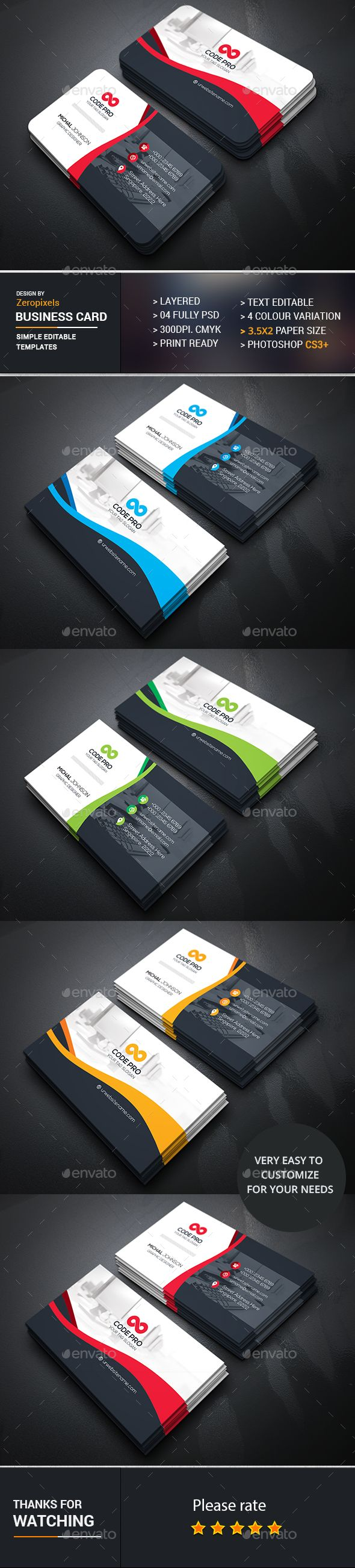 204 best buisness card images on pinterest business card design corporate business card photoshop psd package designer available here https reheart Choice Image