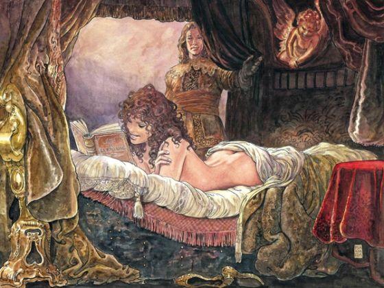 """Recensione del bellissimo """"L'asino d'oro"""" di Milo Manara."""