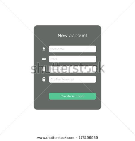 12 best Input forms images on Pinterest Html, Stock photos and - account form template