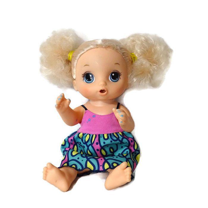 Hasbro Baby Alive Super Snacks Snackin Noodles Doll Blonde Blue Eyes 2016 Hasbro Dolls Baby Alive Super Snacks Kids Toys