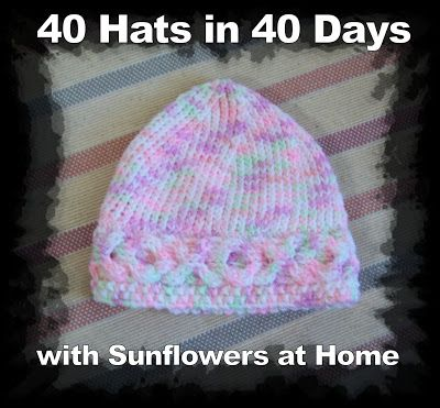 I like to crochet hats and blankets for preemies in the hospital...lots of hat patterns here.