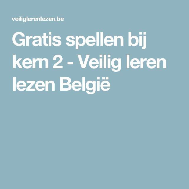 Gratis spellen bij kern 2 - Veilig leren lezen België