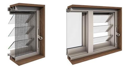 insect screens for louvre windows