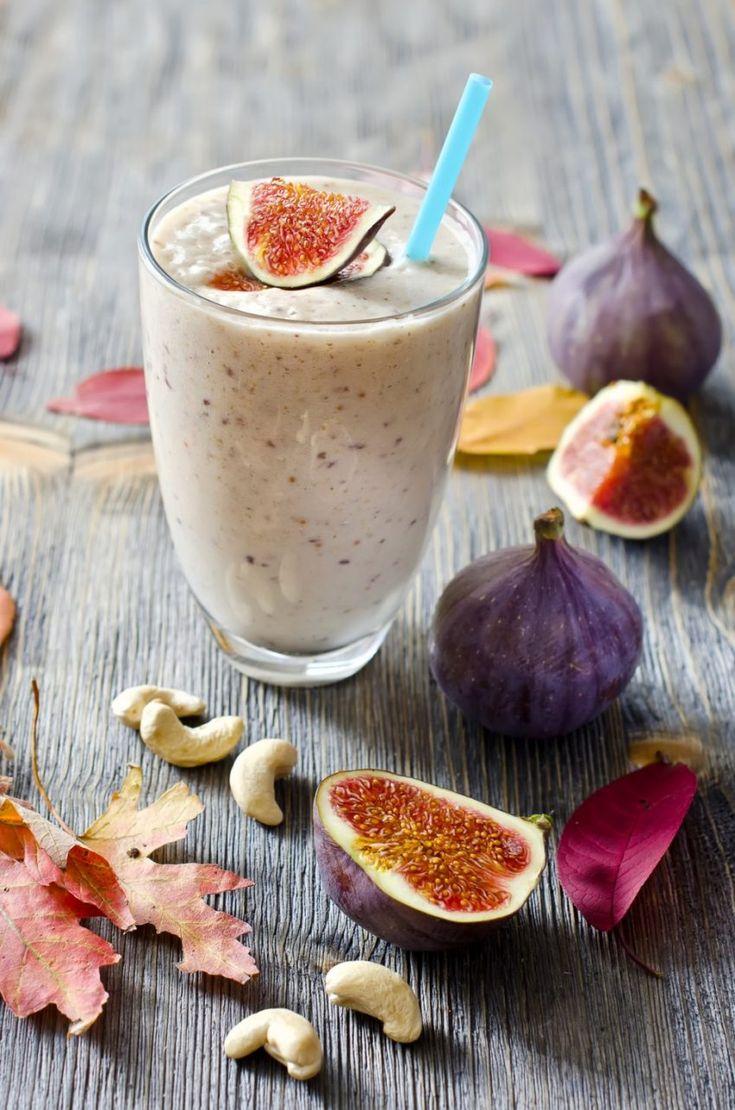 Smoothie z fig i nerkowców
