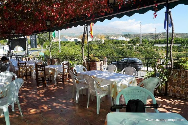 Where to eat and drink in the Lecrin Valley  Terraces with a view