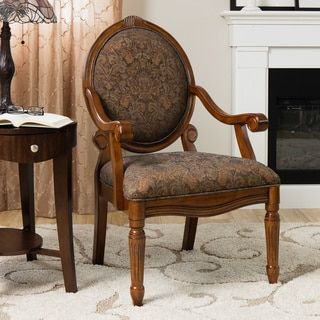 Christopher Knight Home Jacob Brown Bonded Leather Weathered Oak Arm Chair | Overstock.com Shopping - The Best Deals on Dining Chairs