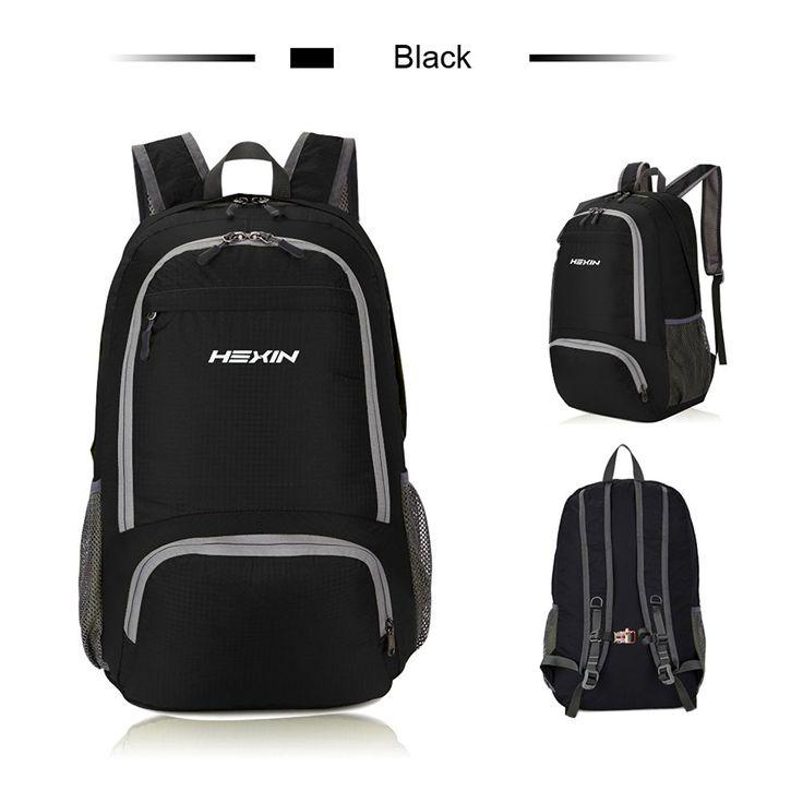 HEXIN Foldble Backpack Lightweight Men