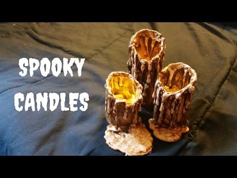 diy candles for halloween 2016 youtube - Youtube Halloween Crafts