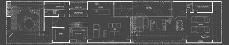 Image 7 of 8 from gallery of Elwood Residence / SJB. Ground Floor Plan