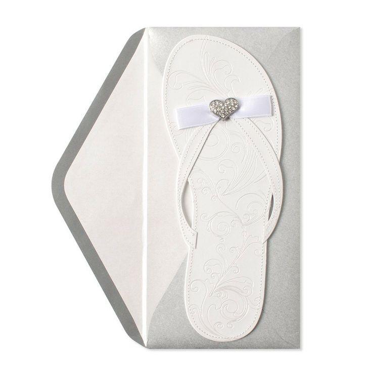 17 Best Images About Jen 39 S Beach Wedding Flip Flop Invitations On Pinte