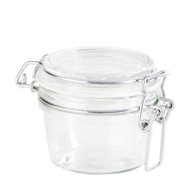 Glas mit Bügelverschluss, klar  Glas mit Bügelverschluss  Material: Glas  Farbe: klar  2,99€