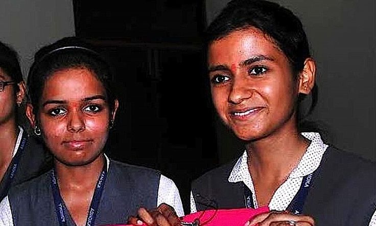 Indian women design 'anti-rape' jeans containing electronic tracker that will send distress signal to nearest police station when pressed