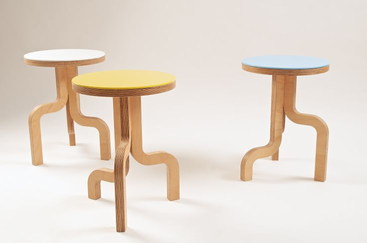 Twig chairs: made from stratified beech wood