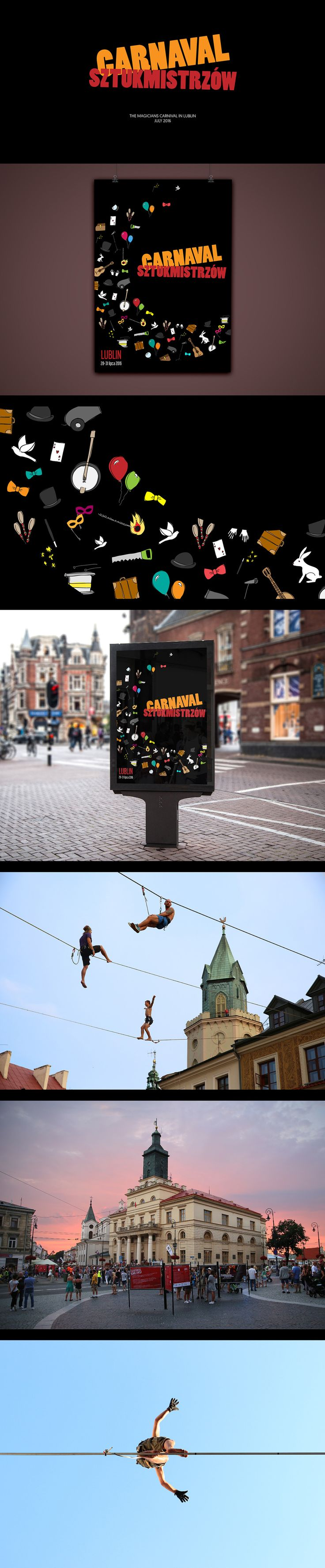 Magicians Carnival poster design on Behance