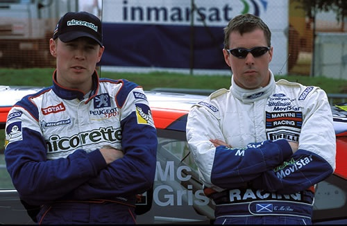 Richard Burns and Colin McRae | Flickr - Photo Sharing!