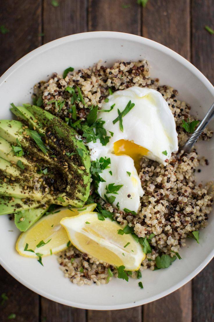 Hearty Quinoa Bowls with Zaatar and Avocado