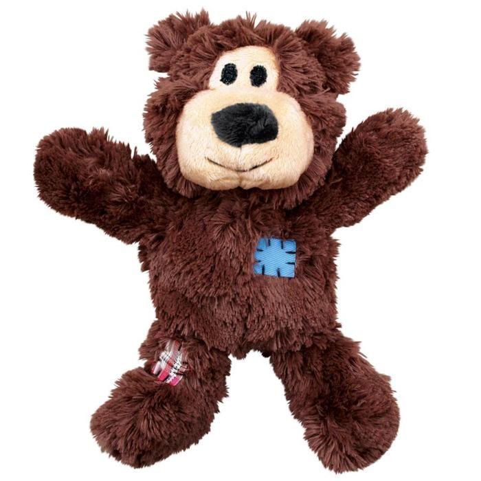 Kong Wild Knots Bear Hearts Dog Toy Durable Dog Toys Best Dog