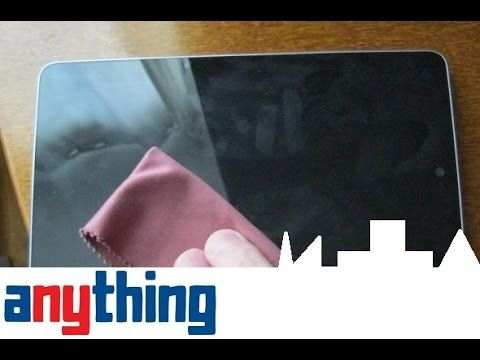 How To Safely Clean Tablet Or Smartphone Touchscreen