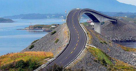 Atlantic Road - Norvégia