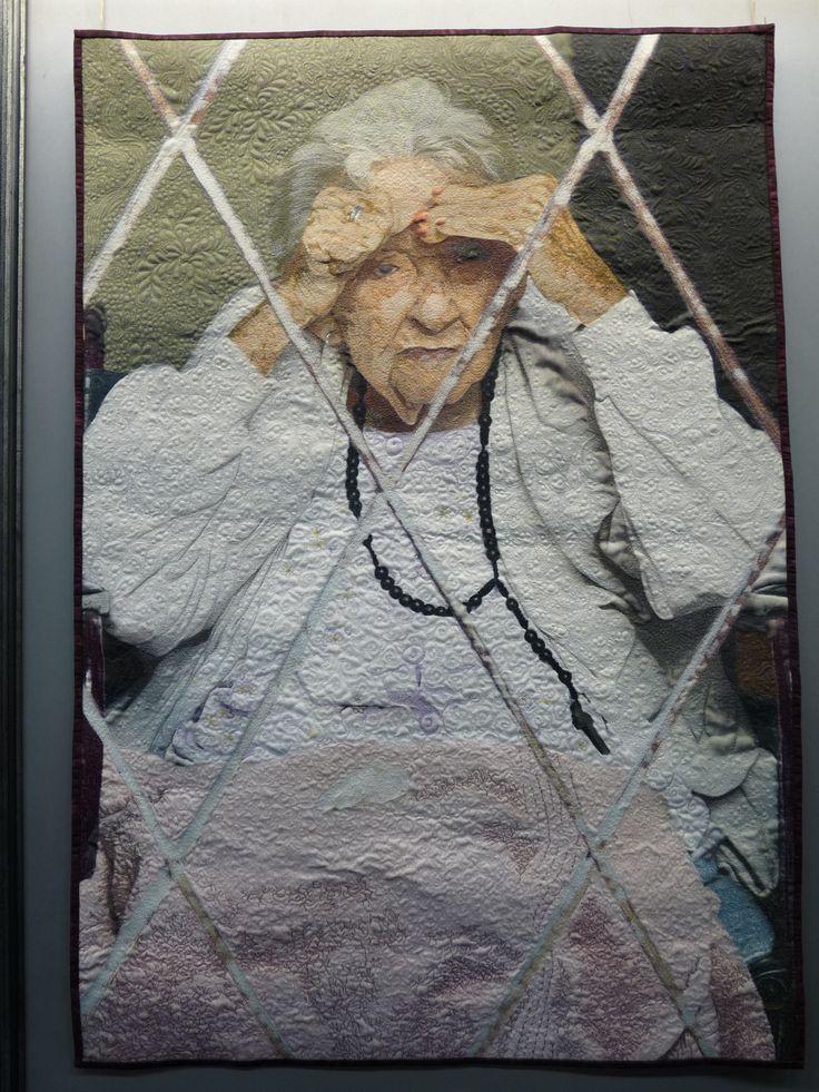 "Jennifer Day - Memories: SAQA exhibition ""Redirecting the Ordinary"""