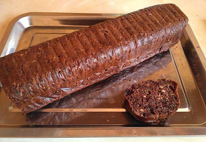 Csokis-cukkinis sütemény